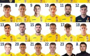 Raul Opruț va purta tricoul cu numărul 3 la Echipa Națională U21 a României