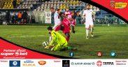 FC Voluntaria avut mare noroc în meciul cuHermannstadși a obținut o victorie vitală, cu 1-0