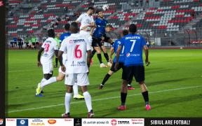 A.F.C.Hermannstadt joacă pe teren propriu împotriva celor de la Viitorul Constanța în etapa a XVII-a din Liga 1