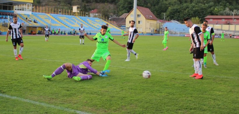 Gaz Metan 2 a remizat în deplasare cu Jiul Petroșani