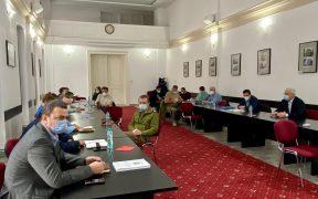 Întâlnire a reprezentanților instituțiilor și unităților sanitare cu responsabilități în prevenirea și combaterea efectelor pandemiei de COVID-19