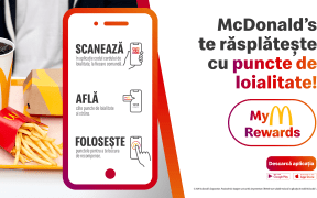McDonald's lansează un program de loialitate în aplicația de mobil