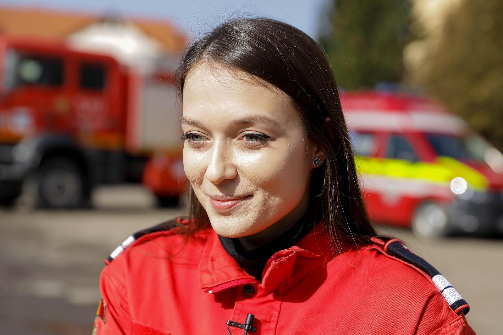 O zi mai altfel la ISU- o zi dedicată femeilor paramedici de Mărțișor