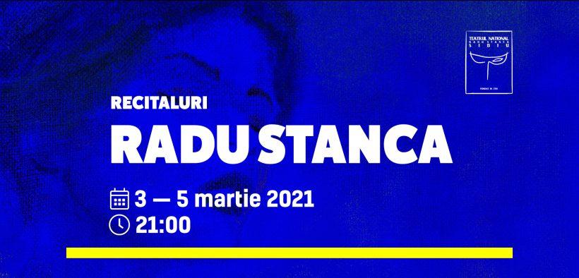 TNRS celebrează 101 ani de la nașterea scriitorului Radu Stanca cu o serie de recitaluri online în perioada 3 - 5 martie