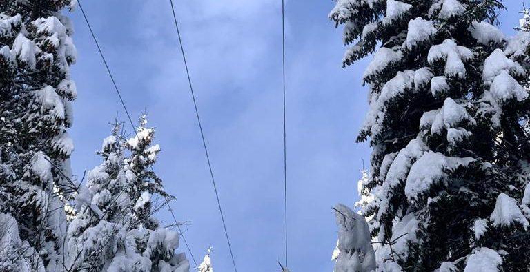 Stațiunea Păltiniș a rămas fără curent electric miercuri după-amiază.