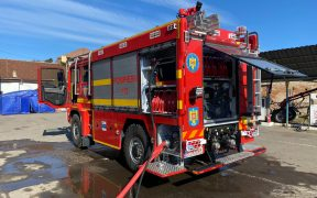 Secția de pompieri Mediaș va fi dodată cu o autospecială pentru intervenții
