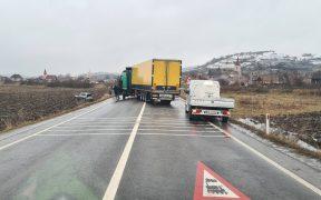 Accident cu patru răniți pe DN 14 - Agârbiciu | Trafic alternativ