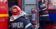 ISU Sibiu a intervenit pe parcursul acestei seri la 3 incendii