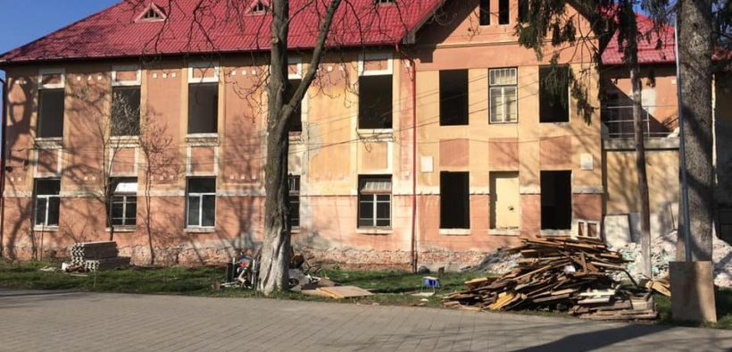 """Au început lucrările de reabilitare a Pavilionului IV de la Spitalul Clinic de Psihiatrie """"Dr. Gheorghe Preda"""" Sibiu"""
