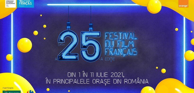 Festivalul Filmului Francez în România celebrează 25 de ani cu o ediție aniversară, de vară 🇫🇷-🇷🇴
