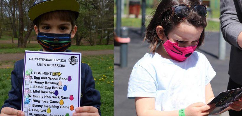 """150 de copilași s-au întrecut la acțiunea """"Easter Egg Hunt"""""""