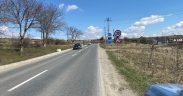 Atenție șoferi! CJ Sibiu a montat calmatoare de viteză pe DJ 106 Sibiu- Agnita