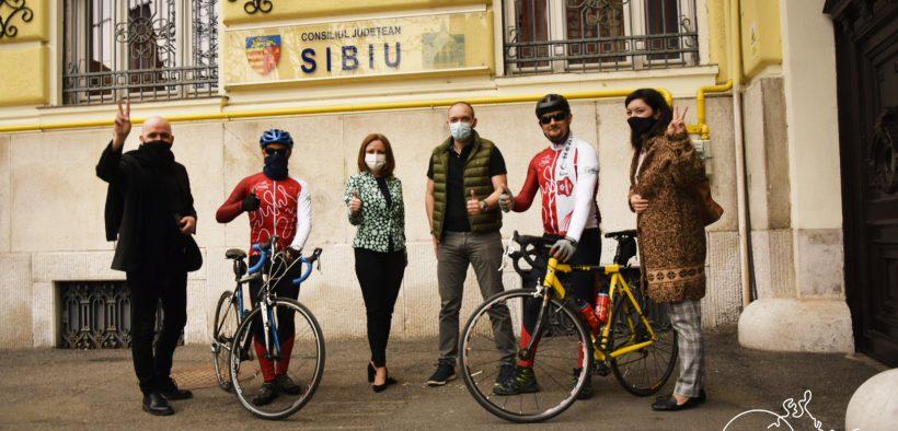 Filarmonica Sibiu – prima filarmonică din țară cu echipă de ciclism