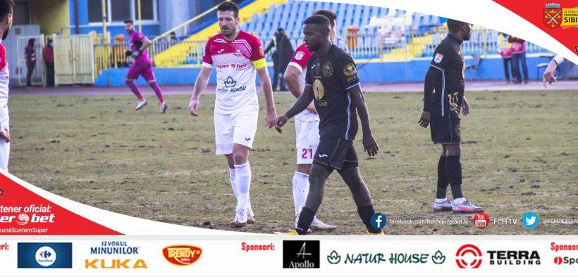 A.F.C.Hermannstadt vs Gaz Metan Mediaș – derby-ul județului Sibiu