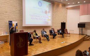 """Campanie """"Vaccinare și testare pentru învățare"""", dedicată profesorilor și elevilor sibieni"""