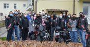 Daruri de la pasionații de motociclism pentru vârstnicii de la Căminul din Săliște