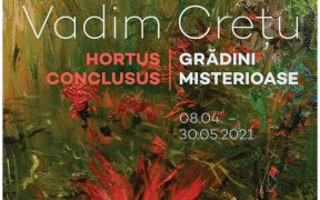 """Descopetiți frumusețea """"Grădinilor misterioase"""" semnate de pictorul Vadim Crețu"""