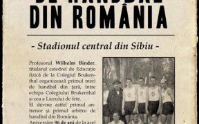 100 de ani de handbal la Sibiul