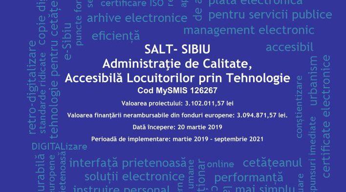 Primăria Sibiu are administrație smart și ghișeu unic pentru relația cu sibienii