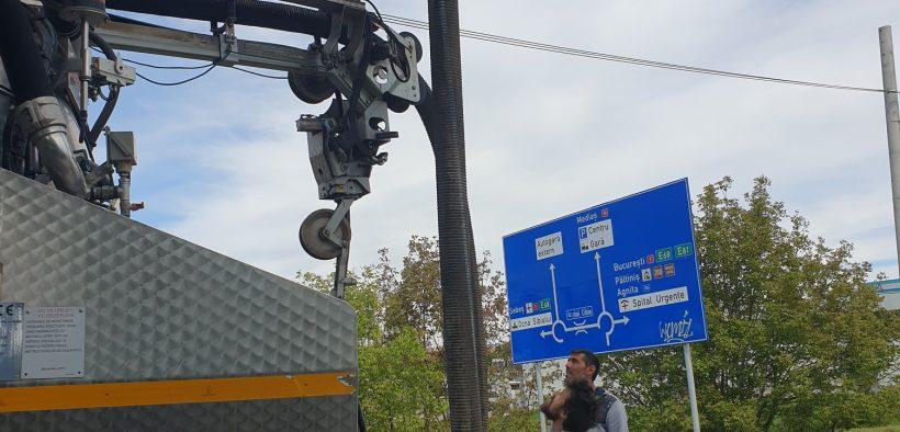 Trafic, restricționat pe strada Maramureșului