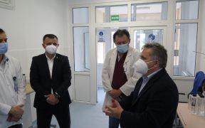 S-au finalizat lucrările de modernizare la secția de Neurologie a Spitalului Municipal Mediaș