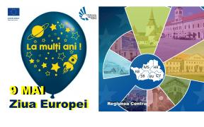 """ADR Centru: Vă invităm în 9 mai să spunem cu toții """"La mulți ani, Europa!"""""""