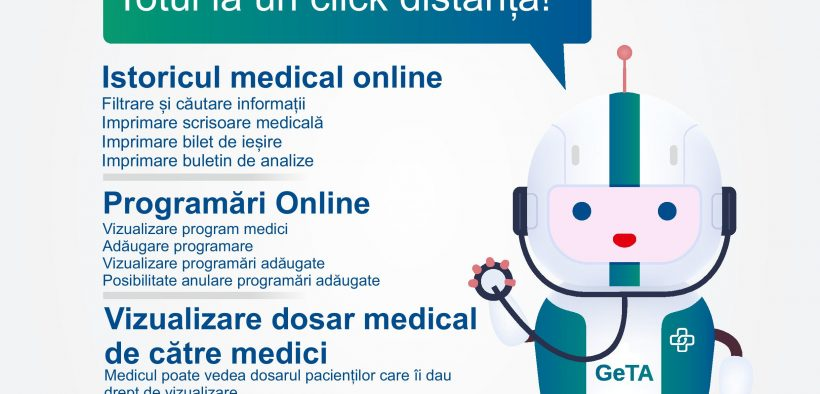 Află cum funcționează platforma PORTAL MEDICAL