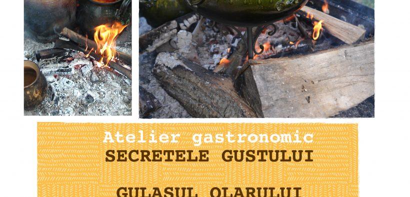 """""""Secretele gustului. Gulașul olarului""""- o activitate culinară în care vizitatorii pot afla ingredientele unui gulaș unguresc"""