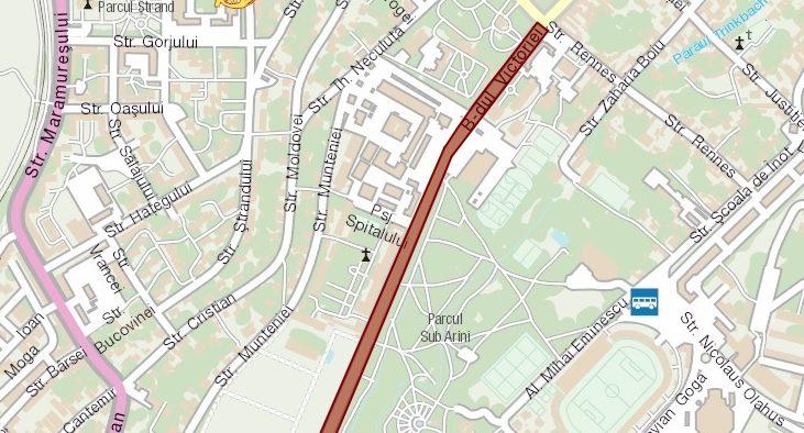 Un tronson al străzii Bahluiului se va închide temporar traficului