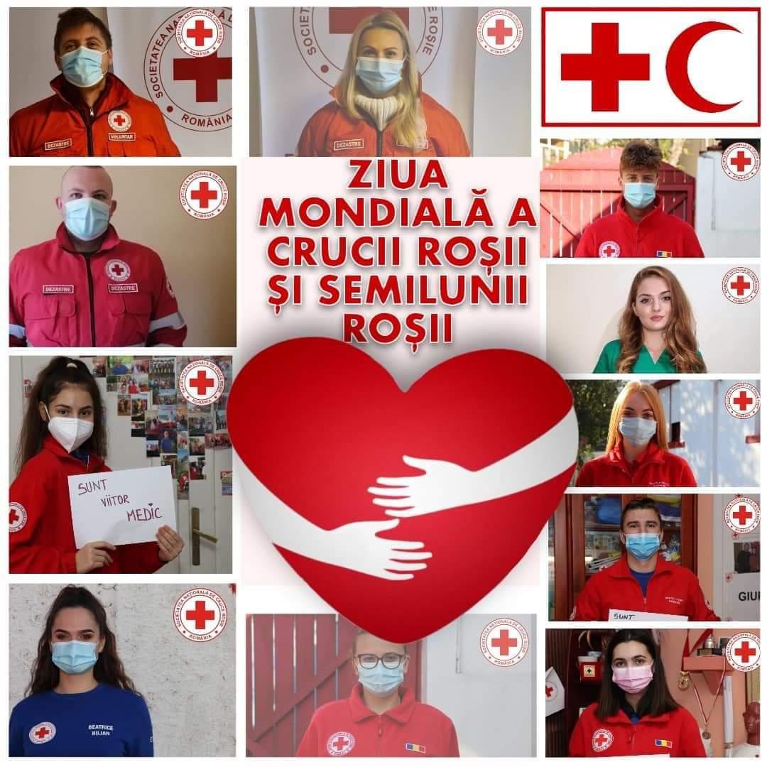 8 mai - Ziua Mondială a Crucii Roșii și Semilunii Roșii
