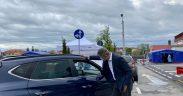 Viceprim- ministrul Dan Barna, prezent la deschiderea primului centru drive thru din Sibiu