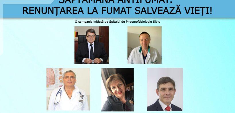 Săptămâna Antifumat: Renunțarea la fumat salvează vieți!