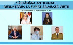Săptămâna Antifumat: Primarul, mitropolitul și prefectul îndeamnă sibienii să renunțe la fumat