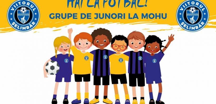 Încep înscrierile la fotbal pentru satul Mohu