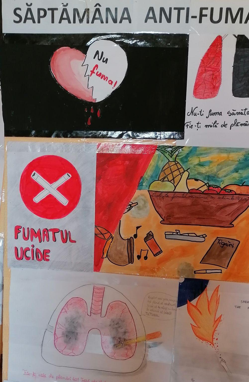 Autoritățile și personalitățile sibiene vor transmite mesaje antifumat,  timp de o săptămână