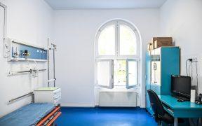 Lucrările de modernizare la Spitalul de Pediatrie continuă