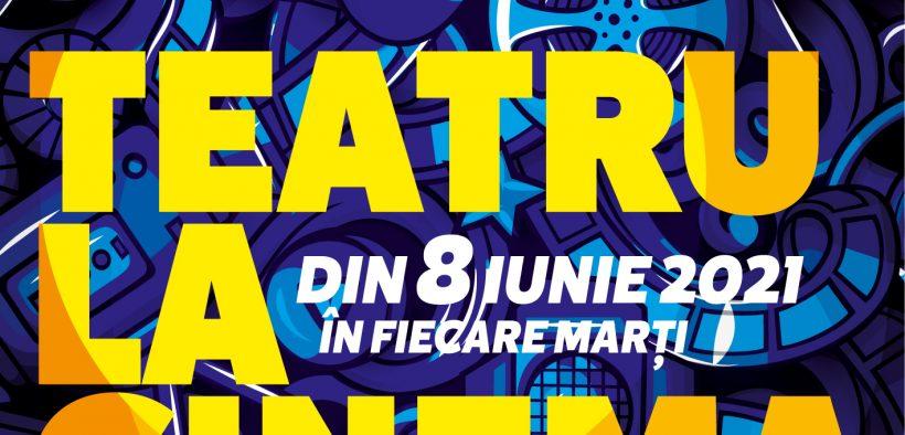 """Echipa TNRS vă propune o nouă provocare: """"Teatru la cinema"""""""