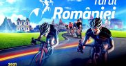 Aproximativ 120 de cicliști participă la Turul României 2021