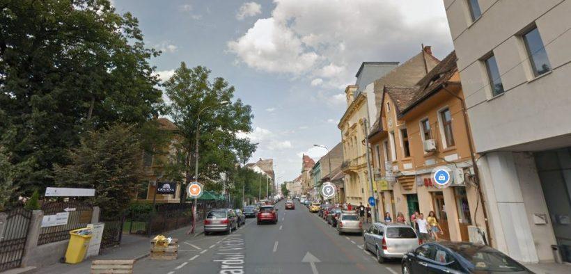 Se restricționează traficul pe tronsonul cuprins între străzile Rennes și Avrig