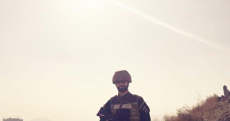 Jandarmul Vlad Alexandru, medaliat la încheierea misiunii sub egida N.A.T.O. în Afganistan