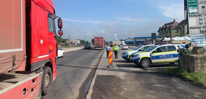 Poliția Română au derulat, la nivel național, o acțiune pentru siguranța transportului de persoane