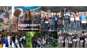 Cererea de finanțare și activitățile propuse de echipa Centrului Europe Direct Regiunea Centru au primit undă verde