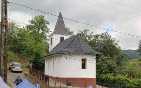 Sfințire de biserică la Târnava, județul Sibiu