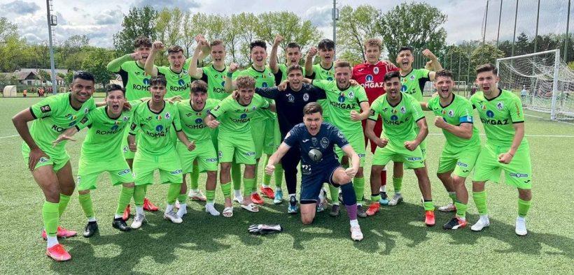 Gaz Metan U19 se află în primele 4 echipe din țară