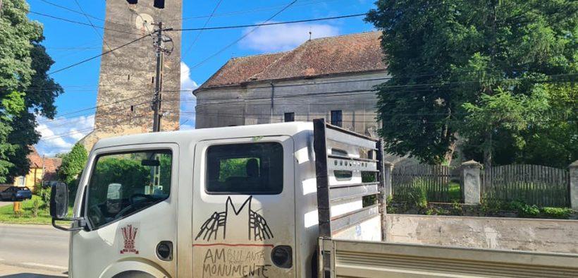 Ambulanța pentru Monumente vrea să salveze Biserica Evanghelică din Hoghilag