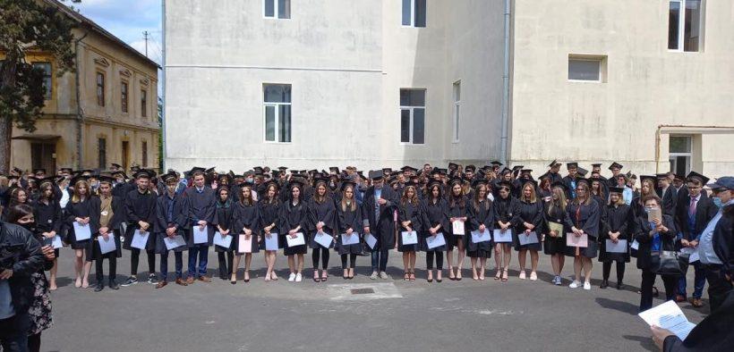 Ultimul clopoțel pentru o generația 2021 la Liceul Teoretic Axente Sever din Mediaș