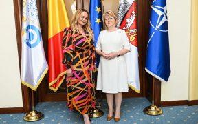 Ambasadorului României în Cuba, în vizită la Primăria Sibiu