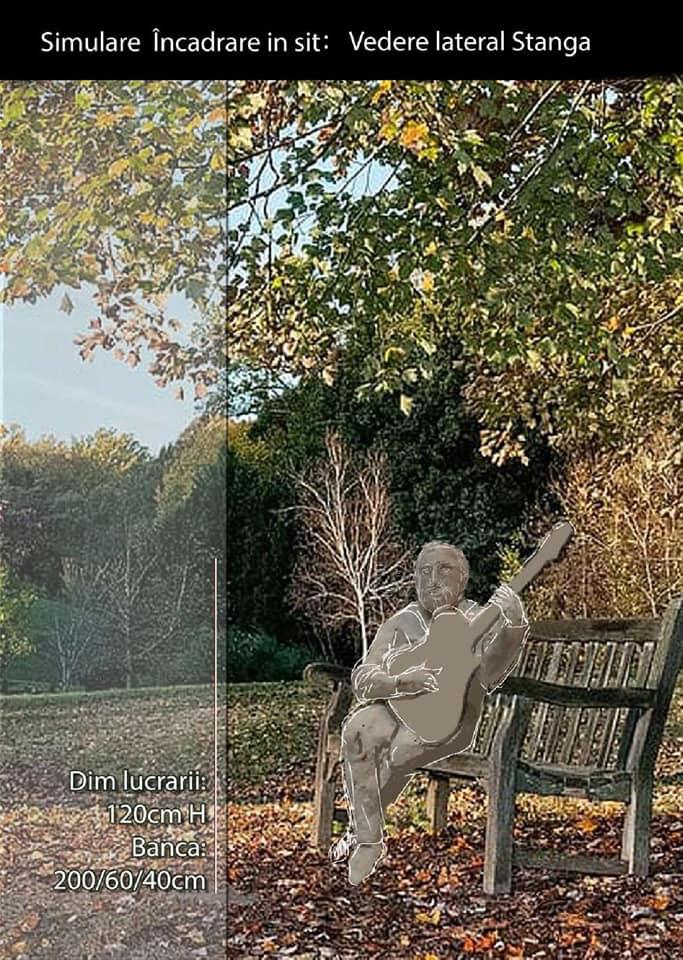 Ioan Gyuri Pascu va avea o statuie în orașul natal