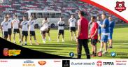 Primul antrenament oficial în sezonul 2021-2022 sub comanda lui Marius Măldărășanu