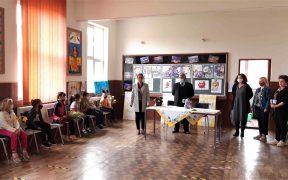 Biblioteca Județeană ASTRA Sibiu a inaugurat un spațiu de lectură la Școala gimnazială din Agârbiciu